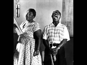 Louis Armstrong y Ella Fitgerald, un duo sensacional